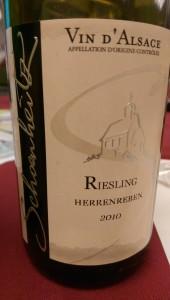 2010 Herrenreben Riesling