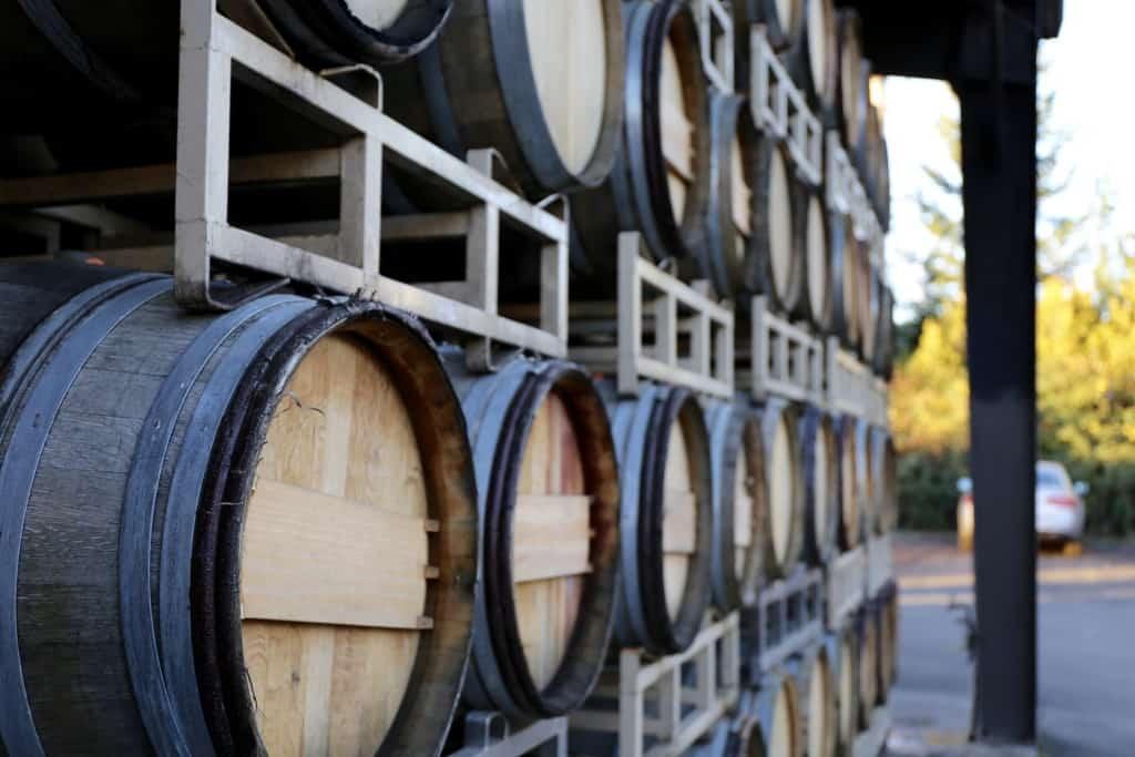 Sineann oak barrels