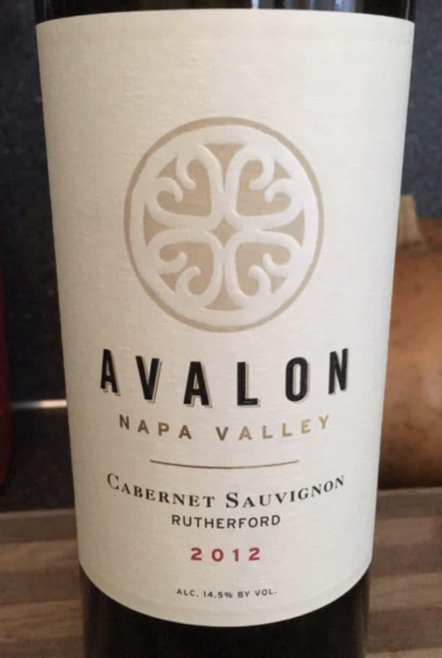 2012 Avalon Rutherford Cabernet Sauvignon
