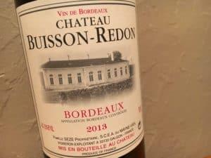 2013 Château Buisson-Redon