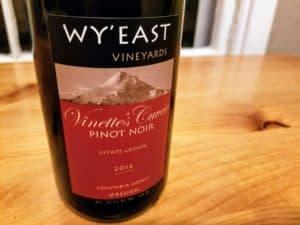 Wy'east Vineyard 2014 Vinette's Cuvee Pinot Noir